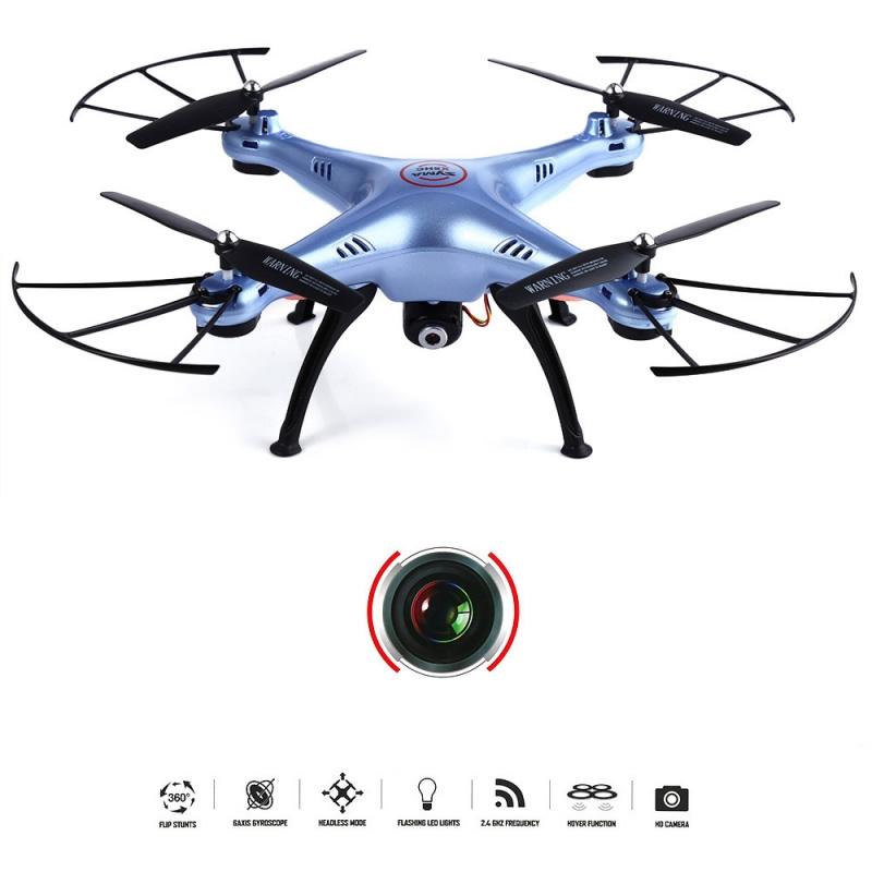 dronas syma x5hc 2mp kamera 130