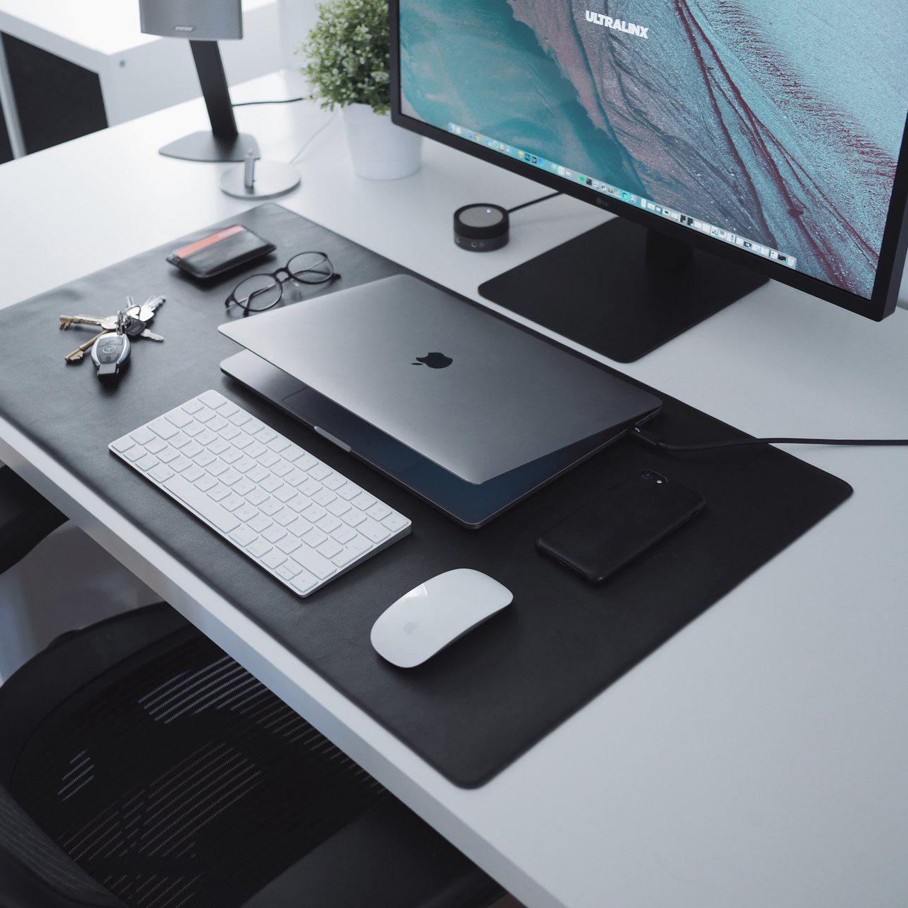 dovanos vyrams   verslo dovana naturalios odos ranku darbo laptop kompiuterio  padas stalo uztiesimas   45
