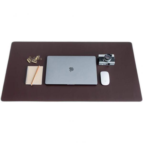 Odinis stalo uždangalas - kompiuterio odinė staltiesė