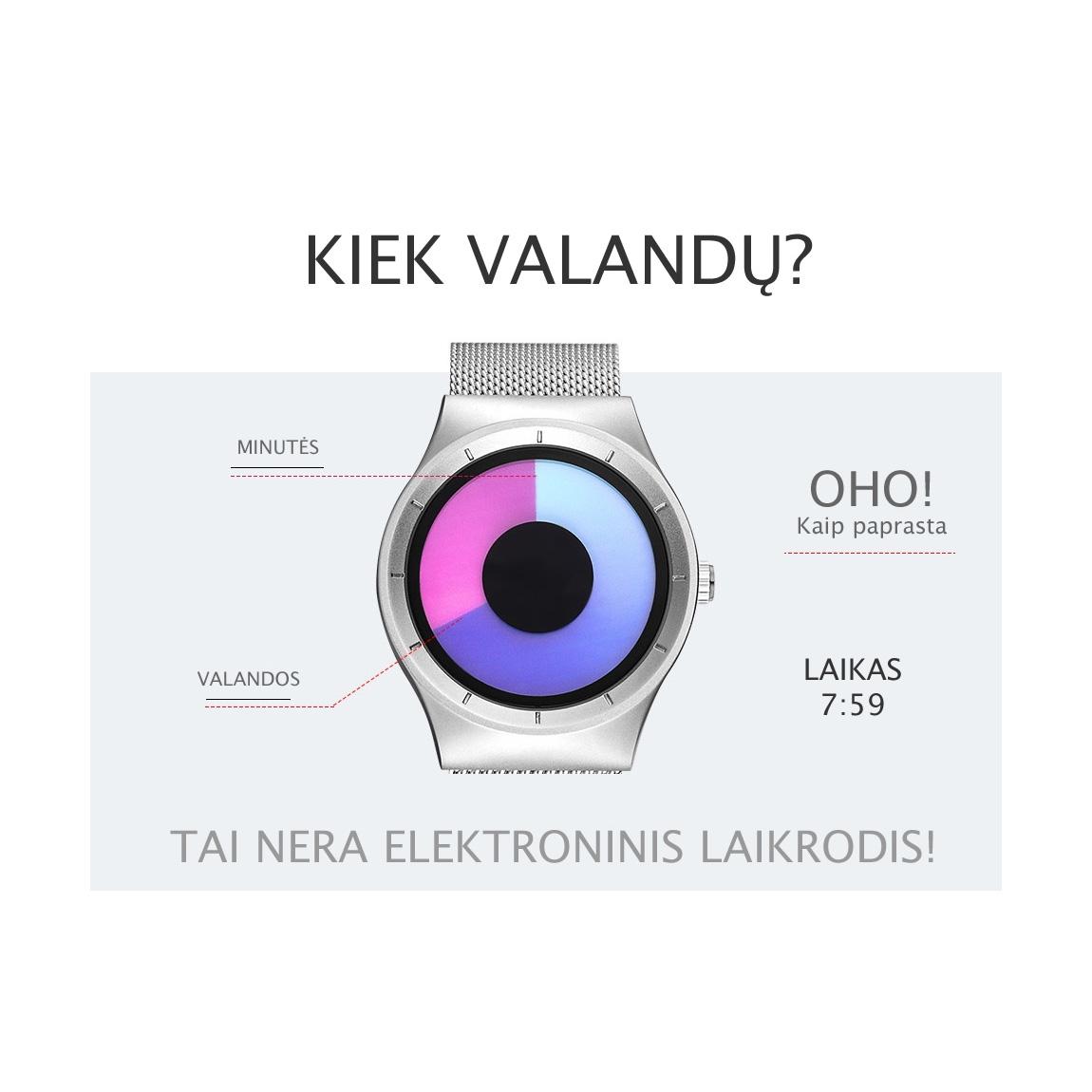 modernus moteriskas laikrodis  dovanos moterims merginai panelei siuolaikiskas modernus isskirtinis unikalus orginalus moteriskas laikrodis sportiska104