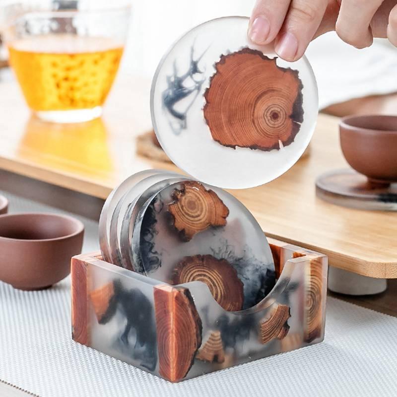 epoksidiniai padekliukai mediniai is medzio virtuves dekoracijos interjeras grazios praktiskos dovanos namams ikurtuvems jaunai seimai mamai tevams 58