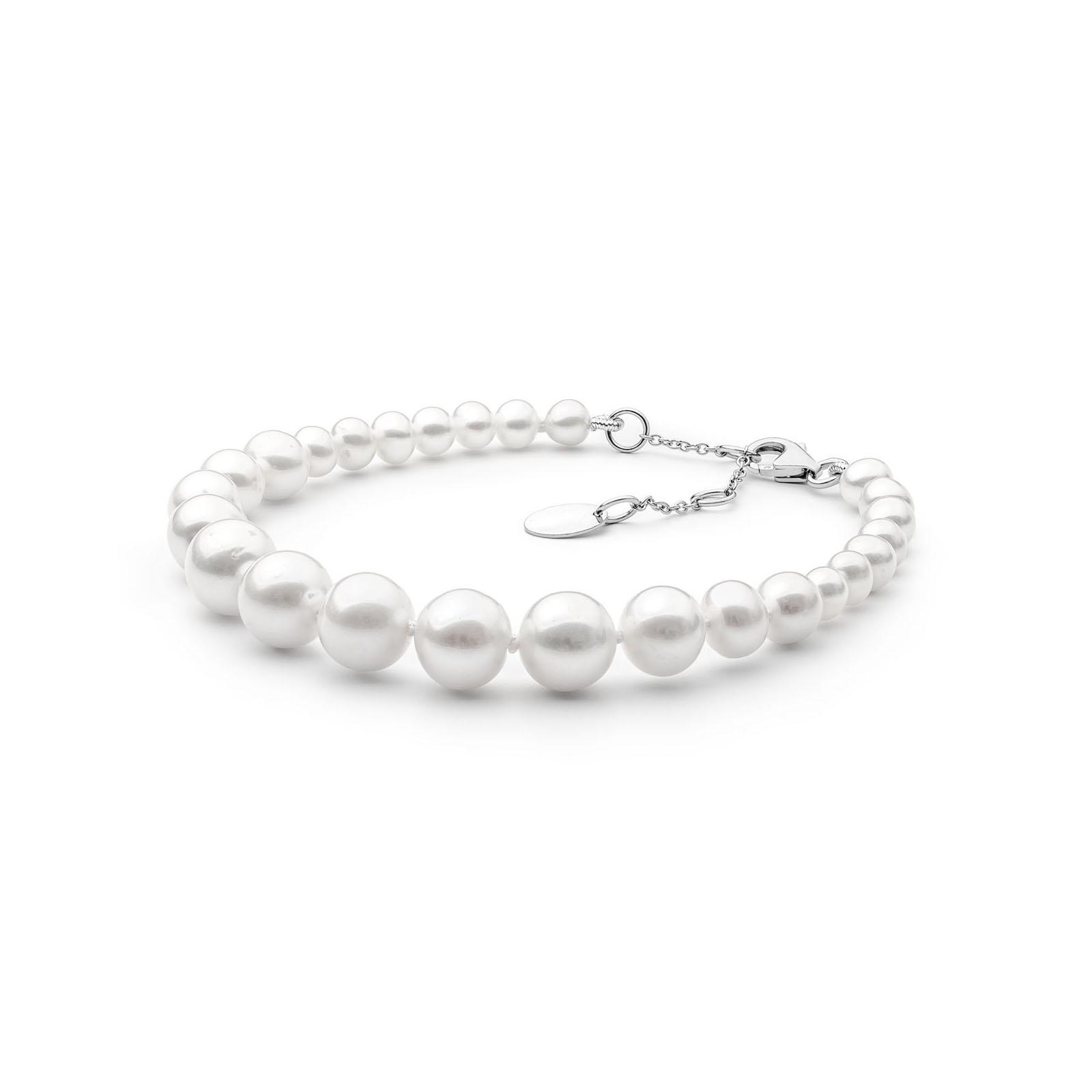 16x isskirine baltu tikru perlu apyranke sidabrine naturaliais perlais perliniai prabangios brangios dovanos gimtadienio jubiliejaus kaledines  moterims mamai zmonai merginai meiluzei dukrai sesei draugei 24r5 10mm