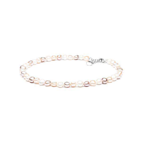 spalvoti karoliai su perlais tikru perlu verinys su naturalus perlais perlinis kaklo papuosalas  dovanos gimtadienio jubiliejaus vestuciu metiniu moterims zmonai merginai meiluzei sesei dukrai mamai mociutei 11m17r