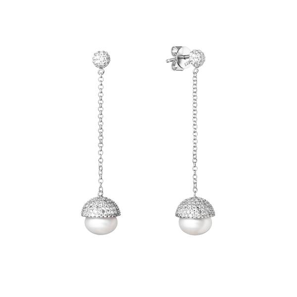 puosnus kabantys blizsgantys spindintys auskrai su naturaliais perlais is tikru perlu prabangus brangios dovanos gimtadienio jubiliejaus kaledoms moterims mamai mamai zmonai merginai  panelei meiluzei dukrai mociutei sesei 60 SK19227E